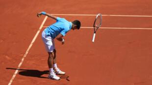 Djokovic se califica para la final del torneo, este 6 de junio de 2014.