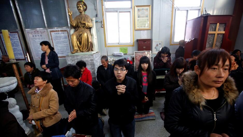 中國天主教地下教會信徒資料圖片