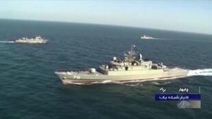 """伊朗海軍""""科納拉克""""(Konarak)號支援艦"""