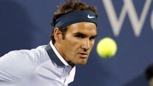 Alors qu'il va affronter le Slovène Grega Zemlja au premier tour de l'US Open, le Suisse Roger Federer est en panne de confiance cette saison.