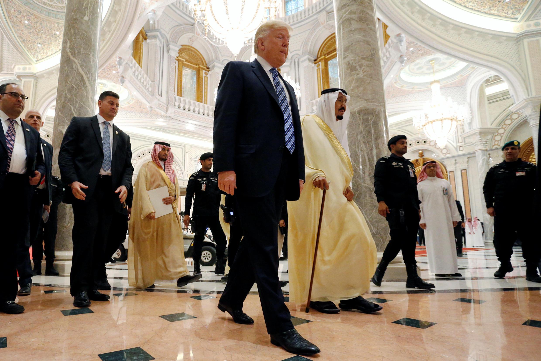 Donald Trump na Ziyara a Gabas ta Tsakiya