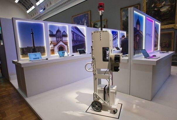 """Google art project. Одним """"кликом"""" можно посетить любой из 151 музея мира"""