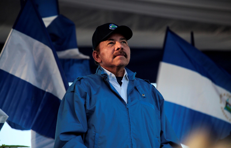 Daniel Ortega, président du Nicaragua, à Managua (Nicaragua) le 5 septembre 2018.