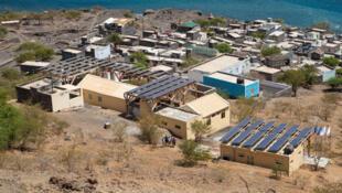 Energia fotovoltaica em Monte Trigo - Cabo Verde