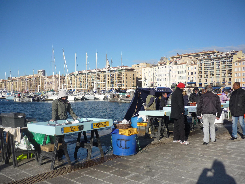 Le Vieux-Port, Marseille.