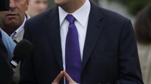 Ed Miliband à Manchester, le 25 septembre 2010.