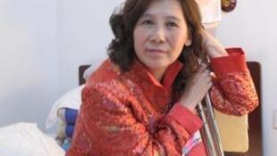 Bà Nghê Ngọc Lan. Ảnh chụp vào cuối năm 2010.