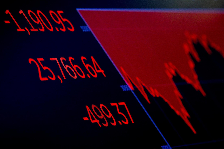 A Wall Street, le Dow Jones s'effondre de plus de 4% ce 28 février 2020.