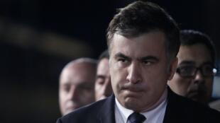 L'ancien président géorgien Mikheïl Saakachvili est devenu un opposant de Petro Porochenko en Ukraine.