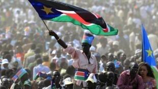 Célébration du jour d'indépendance à Juba, la capitale du Soudan du Sud,  le 9 juillet 2011.