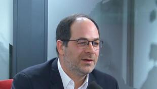 Emmanuel Maurel, fondateur du parti Gauche républicaine et socialiste.