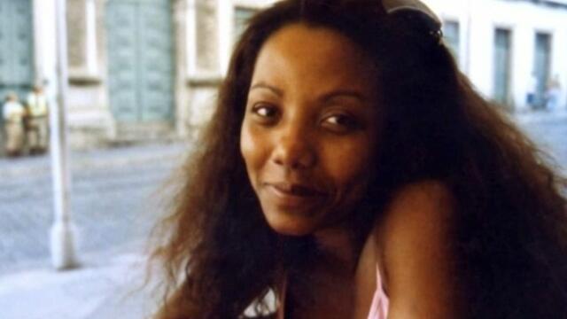 A brasileira Denize Soares, acusada de matar seu companheiro francês Sébastien Brun, em 2004.