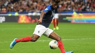 Kingsley Coman scored two goals in France's 4-1 Euro 2020 qualifier win over Albania.
