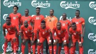 L'équipe du Malawi de football.
