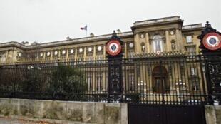 Le ministère français des Affaires étrangères à Paris.