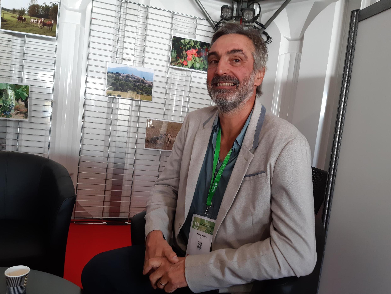 Xavier Niaux, président de l'Institut Technique dédié à l'Agriculture Biologique (ITAB).