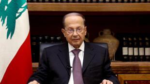 Michel Aoun shugaban Lebanon