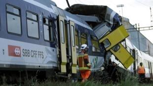 Tai nạn tàu hỏa Thụy Sĩ, ngày 29/07/2013.