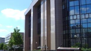 """Le siège du Conseil de l'Union européenne, bâtiment """"Justus Lipsius"""" à Bruxelles."""