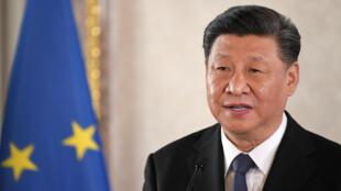 El presidente chino Xi Jinping en Italia, el 22 de marzo de 2019.