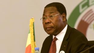 Thomas Boni Yayi, ici en septembre 2015 à Dakar, est accusé par la justice béninoise d'avoir participé à des violences les 1er et 2 mai 2019.