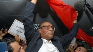 Rais Mpya wa Tunisia Moncef Marzouki ambaye anatarajiwa kuapishwa baadaye hii leo