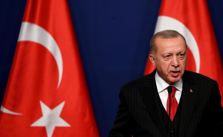 O Presidente da Turquia, Recepe Tayyip Erdogan. 2019