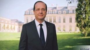 圖為法國卸任總統奧朗德