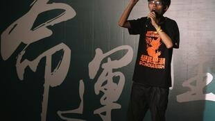 香港學運領袖之一黃之鋒