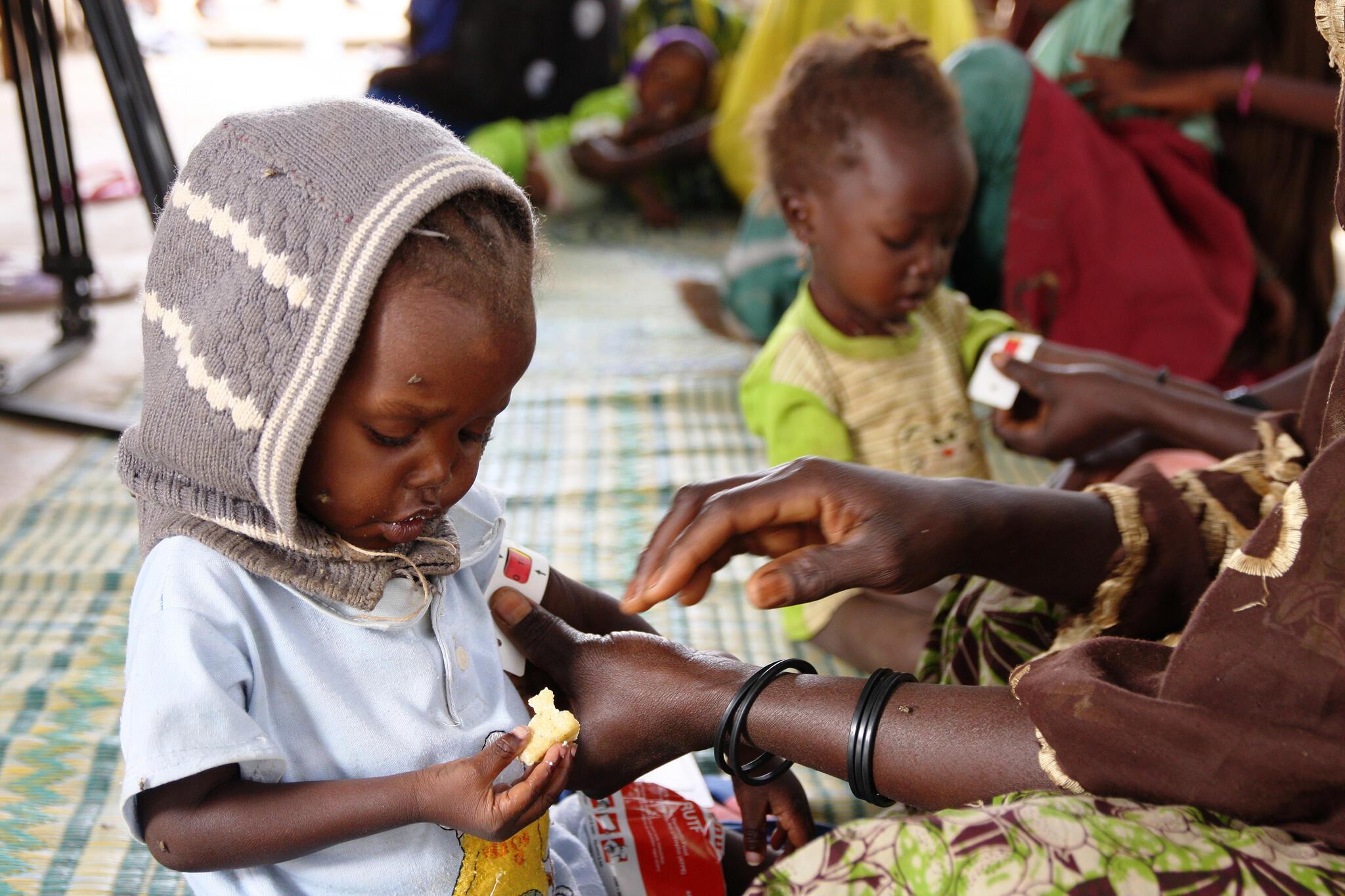 Au Niger les cas de malnutritrion infantile et de paludisme chez les enfants seraient en hausse selon l'Unicef.