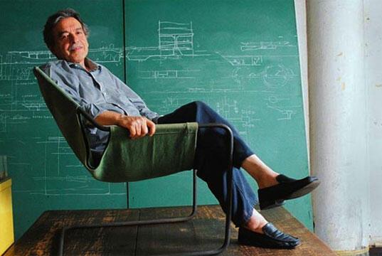Arquiteto Paulo Mendes da Rocha, um filósofo da arquitetura.