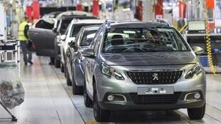A Peugeot Citroen factory, in Mulhouse, France. Parent company PSA is in merger talks with Fiat Chrysler