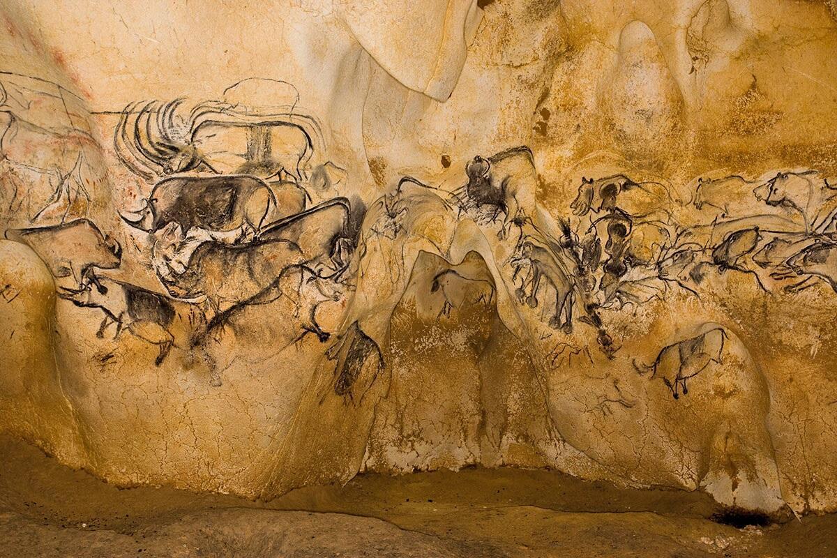 Vallon-Pont d'Arc cave art in the Ardeche