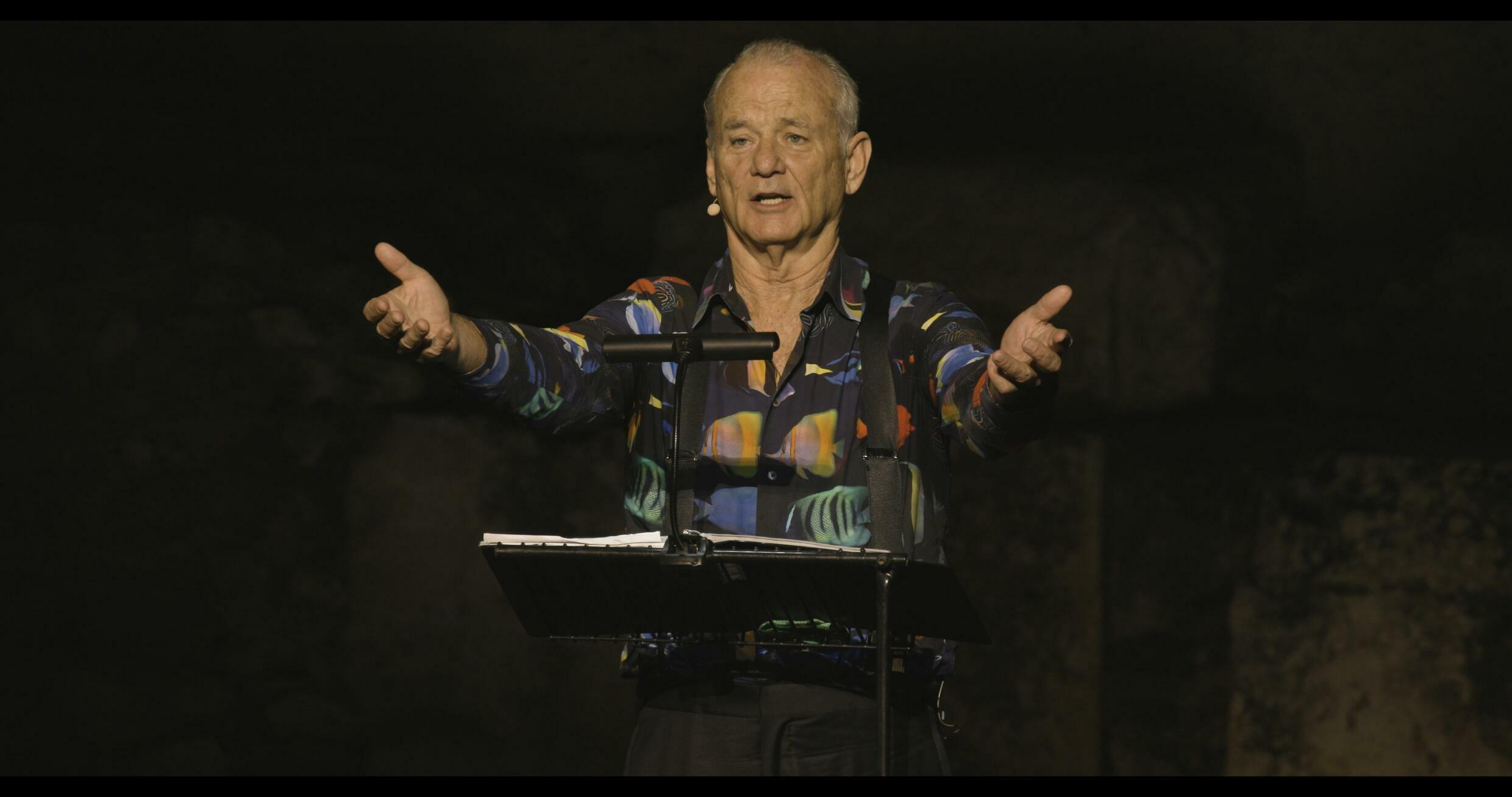 Bill Murray performs in New Worlds_The Cradle of Civilization_Credit Dorn Music