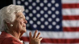 Barbara Bush mahaifiyar tsohon Shugaban Amurka Georges W Bush