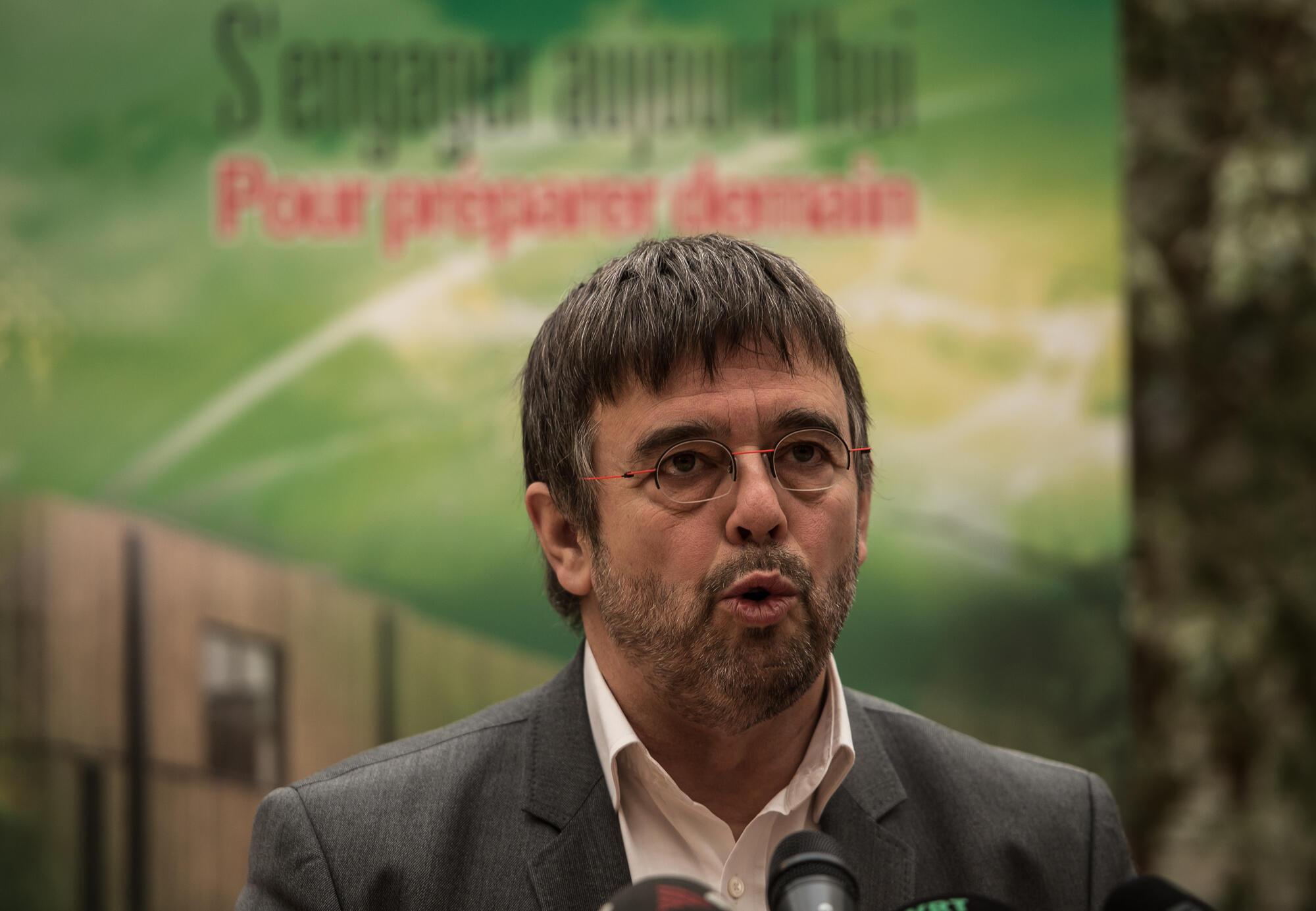 法广存档图片:法国欧洲议员 Damien Carême Image d'archive RFI: Damien Carême - eurodéputé français écologiste