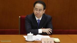 Ling Jihua, le bras droit de l'ancien président Hu Jintao, à Pékin, en mars 2013.