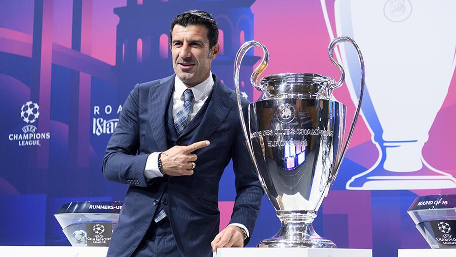 PHOTO Luis Figo Ligue des champions 2019