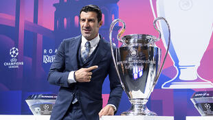 PHOTO Luis Figo Ligue des champions 2019