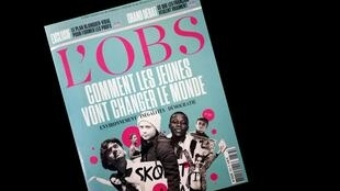 A revista semanal L'Obs trouxe matéria de capa sobre os jovens militantes