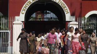 Освобождение женщин-заключенных на Бирме в октябре 2011 (архив)