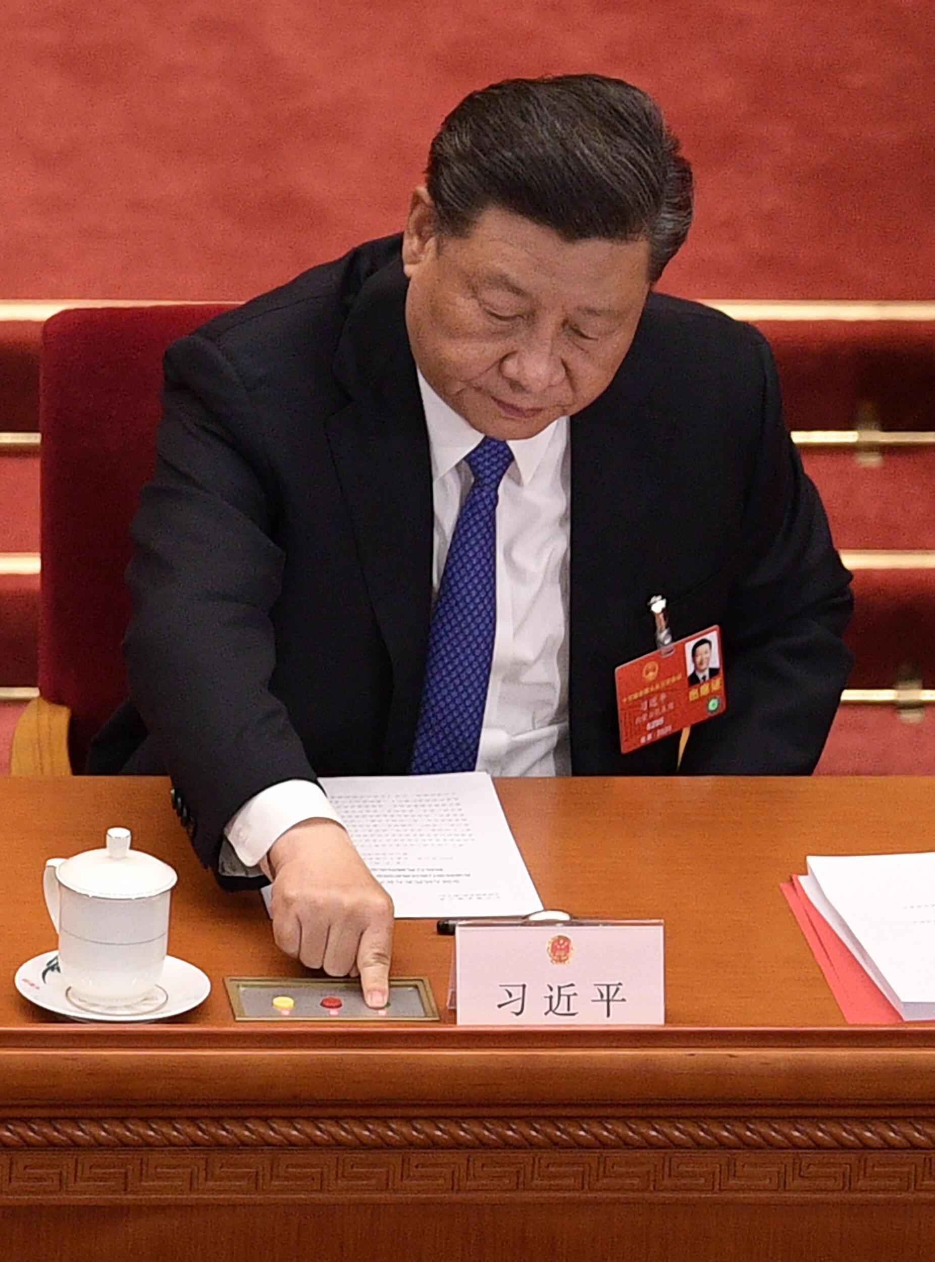 Presidente chinês Xi Jinping era o anfitrião do evento reunindo chineses e africanos no combate à Covid-19 (Foto de arquivo).