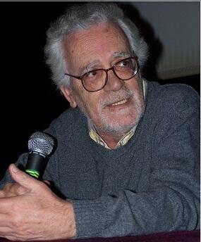 Eduardo Coutinho durante o evento Brasil em Movimento, em 2005.