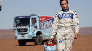 A piloto portuguesa, Elisabete Jacinto, terminou pelo terceiro ano consecutivo no pódio.