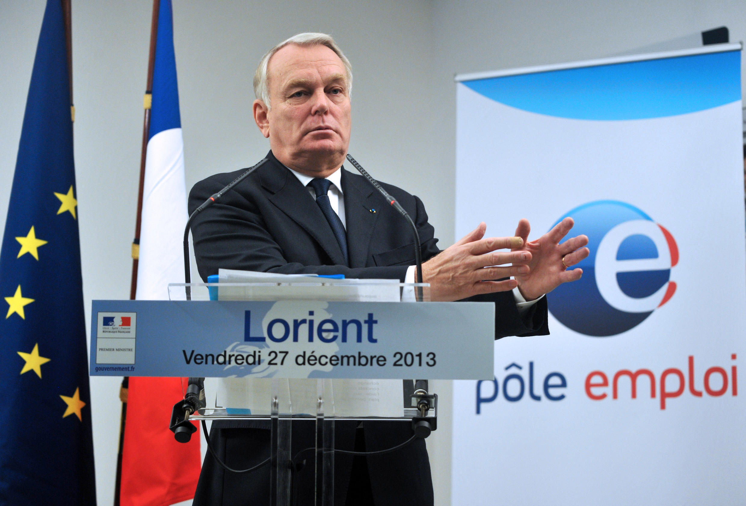 French Prime Minister, Jean-Marc Ayrault. File.