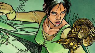 Cyann Olismar, héroïne du «Cycle de Cyann».