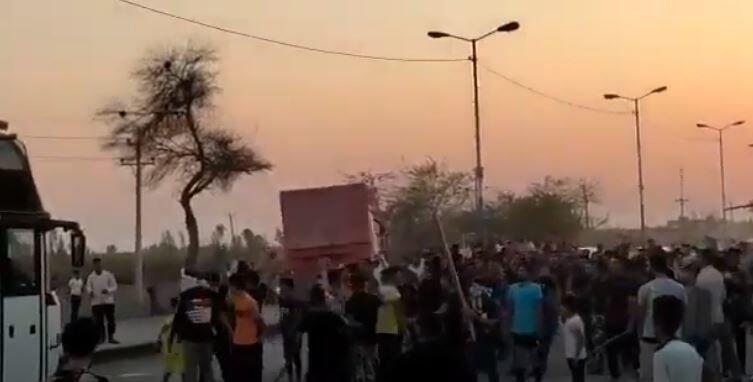 Iran-Manifestations Khouzistan