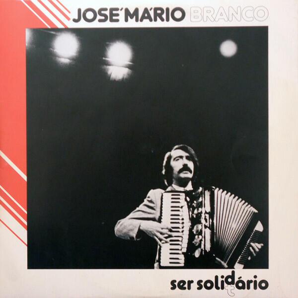 """Capa do álbum """"Ser Solidário"""" de José Mário Branco"""