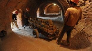 Mine de la province d'Anhui, dans l'est de la Chine.