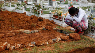 Mocoa pleure ses morts après la catastrophe, le 3 avril 2017.